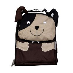 PVC FREE 3D Animal Lunch Bag for Kids Dog 1