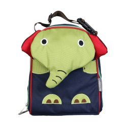 PVC FREE 3D Animal Lunch Bag for Kids Elephant 1