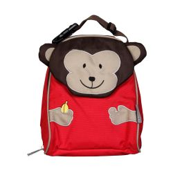 PVC FREE 3D Animal Lunch Bag for Kids Monkey 1