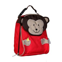 PVC FREE 3D Animal Lunch Bag for Kids Monkey 2