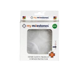 My Milestones Home Safety Product - Corner Protector for Glass 4pc set