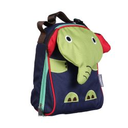 PVC FREE 3D Animal Lunch Bag for Kids Elephant 2