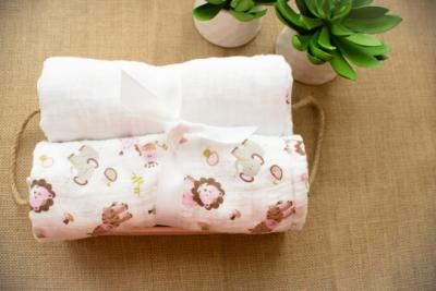 100% Cotton Muslin Baby Swaddle/Wrap and Baby Blankets