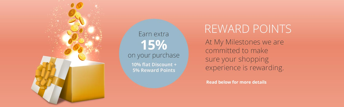 At My Milestones we are committed to make sure your shopping experience is rewarding.