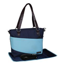 My Milestones Diaper Bag Urbane - Navy-T. Blue