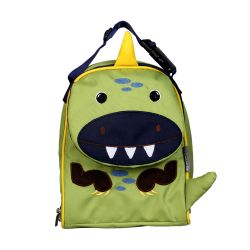 PVC FREE 3D Animal Lunch Bag for Kids Dinosaur 1