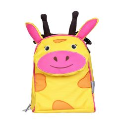 PVC FREE 3D Animal Lunch Bag for Kids Giraffe 1