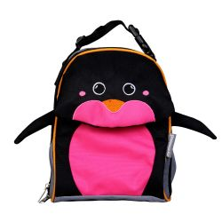 PVC FREE 3D Animal Lunch Bag for Kids Penguin 1