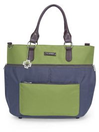 My Milestones Diaper Bag Traveler - Grey/Green