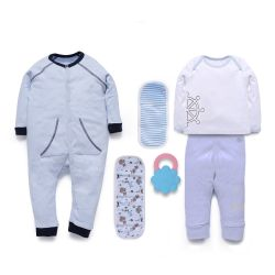 My Milestones Love Bundle Infant Gift Set B - 6 pcs - Blue