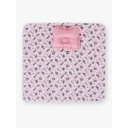 My Milestones Nursery Play Mat With Pillow - Zoo Print- Pink