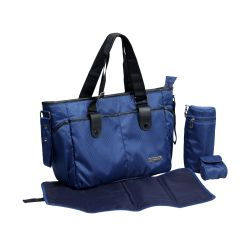 Diaper Bag Diva Tote Blue 2
