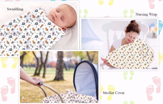 What is a muslin Swaddle Wrap used for
