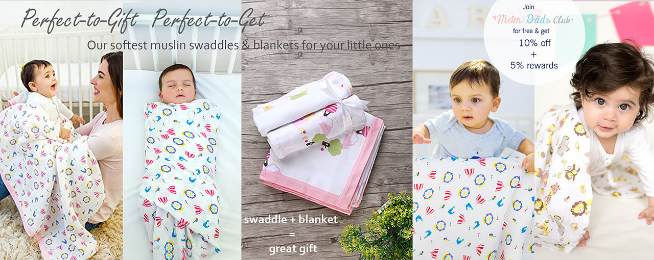 Swaddle and Blanket
